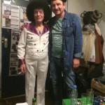"Backstage im ""Muddys"" mit Alfredo"