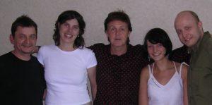 Me & Sir Paul (und 3 Kollegen)